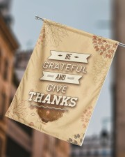 """Be Grateful - Thanksgiving 29.5""""x39.5"""" House Flag aos-house-flag-29-5-x-39-5-ghosted-lifestyle-15"""