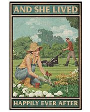 Gardening She lived happily ever after poster 11x17 Poster front