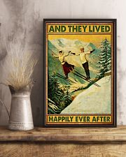 Skiing And they lived happily poster 11x17 Poster lifestyle-poster-3