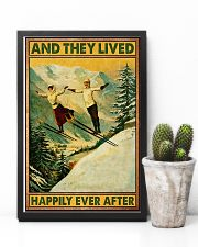 Skiing And they lived happily poster 11x17 Poster lifestyle-poster-8