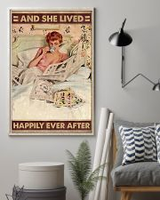 And she lived happily ever after coffee 11x17 Poster lifestyle-poster-1