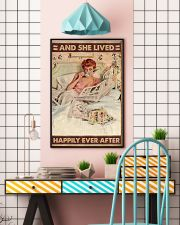 And she lived happily ever after coffee 11x17 Poster lifestyle-poster-6