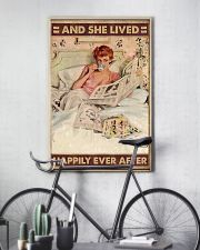 And she lived happily ever after coffee 11x17 Poster lifestyle-poster-7