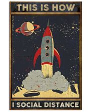 Space Social distancing Poster Limited Edition 11x17 Poster front