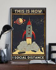 Space Social distancing Poster Limited Edition 11x17 Poster lifestyle-poster-2