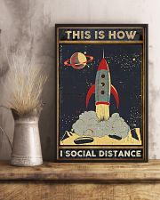 Space Social distancing Poster Limited Edition 11x17 Poster lifestyle-poster-3