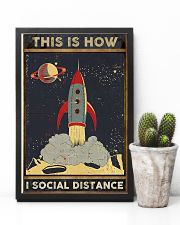 Space Social distancing Poster Limited Edition 11x17 Poster lifestyle-poster-8