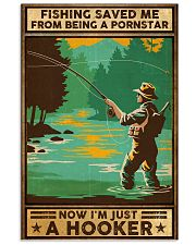 Fishing saved me from being a pornstar 11x17 Poster front