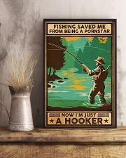 Fishing saved me from being a pornstar 11x17 Poster lifestyle-poster-3