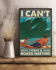 Surfing I cant I have  a board meeting Poster 11x17 Poster lifestyle-poster-3