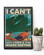 Surfing I cant I have  a board meeting Poster 11x17 Poster lifestyle-poster-8