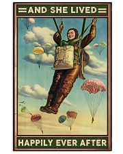 Parachuting And she lived happily ever after 11x17 Poster front