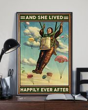 Parachuting And she lived happily ever after 11x17 Poster lifestyle-poster-2