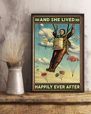 Parachuting And she lived happily ever after 11x17 Poster lifestyle-poster-3