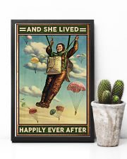 Parachuting And she lived happily ever after 11x17 Poster lifestyle-poster-8