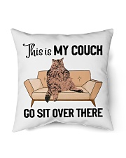 Cat pillowcase This is my couch sit over there Indoor Pillow tile