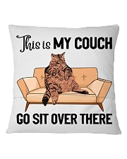 Cat pillowcase This is my couch sit over there Square Pillowcase back