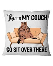 Cat pillowcase This is my couch sit over there Square Pillowcase front