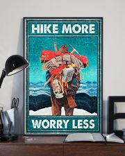 Hike more worry less poster 11x17 Poster lifestyle-poster-2