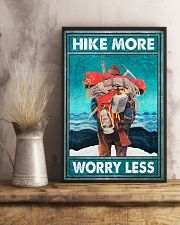 Hike more worry less poster 11x17 Poster lifestyle-poster-3