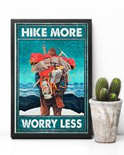Hike more worry less poster 11x17 Poster lifestyle-poster-8