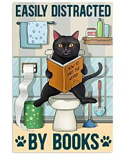 Easily distracted by books 11x17 Poster front