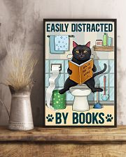 Easily distracted by books 11x17 Poster lifestyle-poster-3