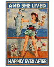 Fishing and she lived happily ever afte 11x17 Poster front