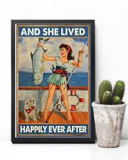 Fishing and she lived happily ever afte 11x17 Poster lifestyle-poster-8