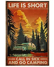 Call in sick n go camping Poster 11x17 Poster front