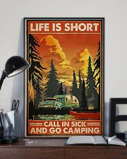 Call in sick n go camping Poster 11x17 Poster lifestyle-poster-2