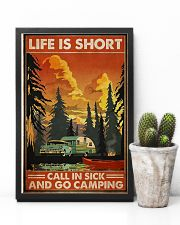 Call in sick n go camping Poster 11x17 Poster lifestyle-poster-8