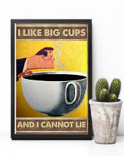 I like big cups I cannot lie Coffee poster 11x17 Poster lifestyle-poster-8