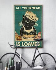 Cat All you knead is loaves poster 11x17 Poster lifestyle-poster-7