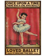 Ballet Once upon a time Poster 11x17 Poster front