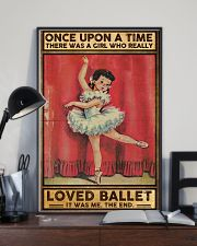 Ballet Once upon a time Poster 11x17 Poster lifestyle-poster-2