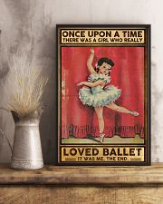 Ballet Once upon a time Poster 11x17 Poster lifestyle-poster-3