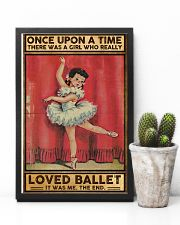 Ballet Once upon a time Poster 11x17 Poster lifestyle-poster-8