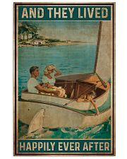 Catboat And they lived happily ever after Poster 11x17 Poster front