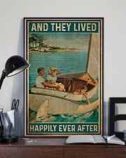Catboat And they lived happily ever after Poster 11x17 Poster lifestyle-poster-2
