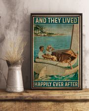 Catboat And they lived happily ever after Poster 11x17 Poster lifestyle-poster-3