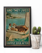 Catboat And they lived happily ever after Poster 11x17 Poster lifestyle-poster-8