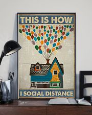 Social distancing Poster Limited Edition 11x17 Poster lifestyle-poster-2