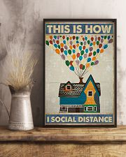 Social distancing Poster Limited Edition 11x17 Poster lifestyle-poster-3