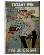 Trust me im a chef 11x17 Poster front