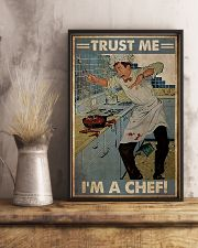 Trust me im a chef 11x17 Poster lifestyle-poster-3
