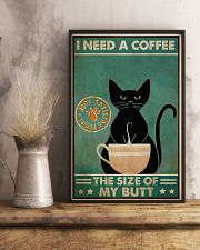Need a coffee the size of my butt 11x17 Poster lifestyle-poster-3