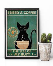 Need a coffee the size of my butt 11x17 Poster lifestyle-poster-8