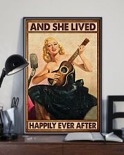 Guitar And she lived happily ever after Poster 11x17 Poster lifestyle-poster-2
