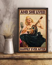Guitar And she lived happily ever after Poster 11x17 Poster lifestyle-poster-3